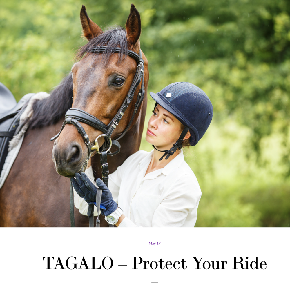"#7 Tagalo - ""Every rider, no matter the level, wants safety and more knowledge about their horse and Tagalo can deliver that."""
