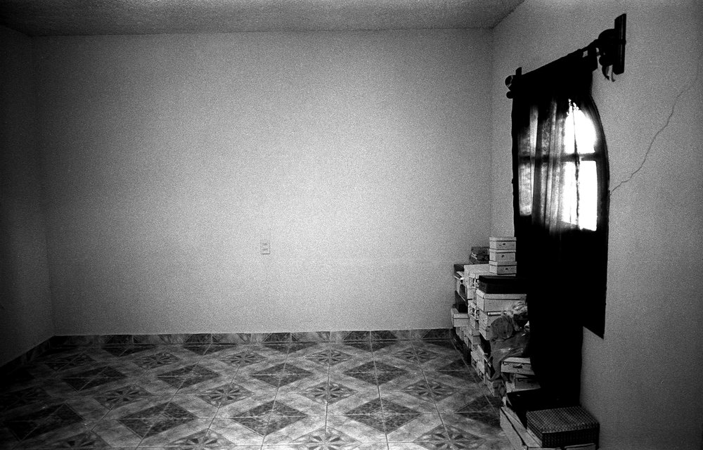 A room in the remittance house that I slept in.