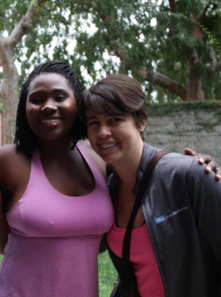 Pili and Jacqueline.