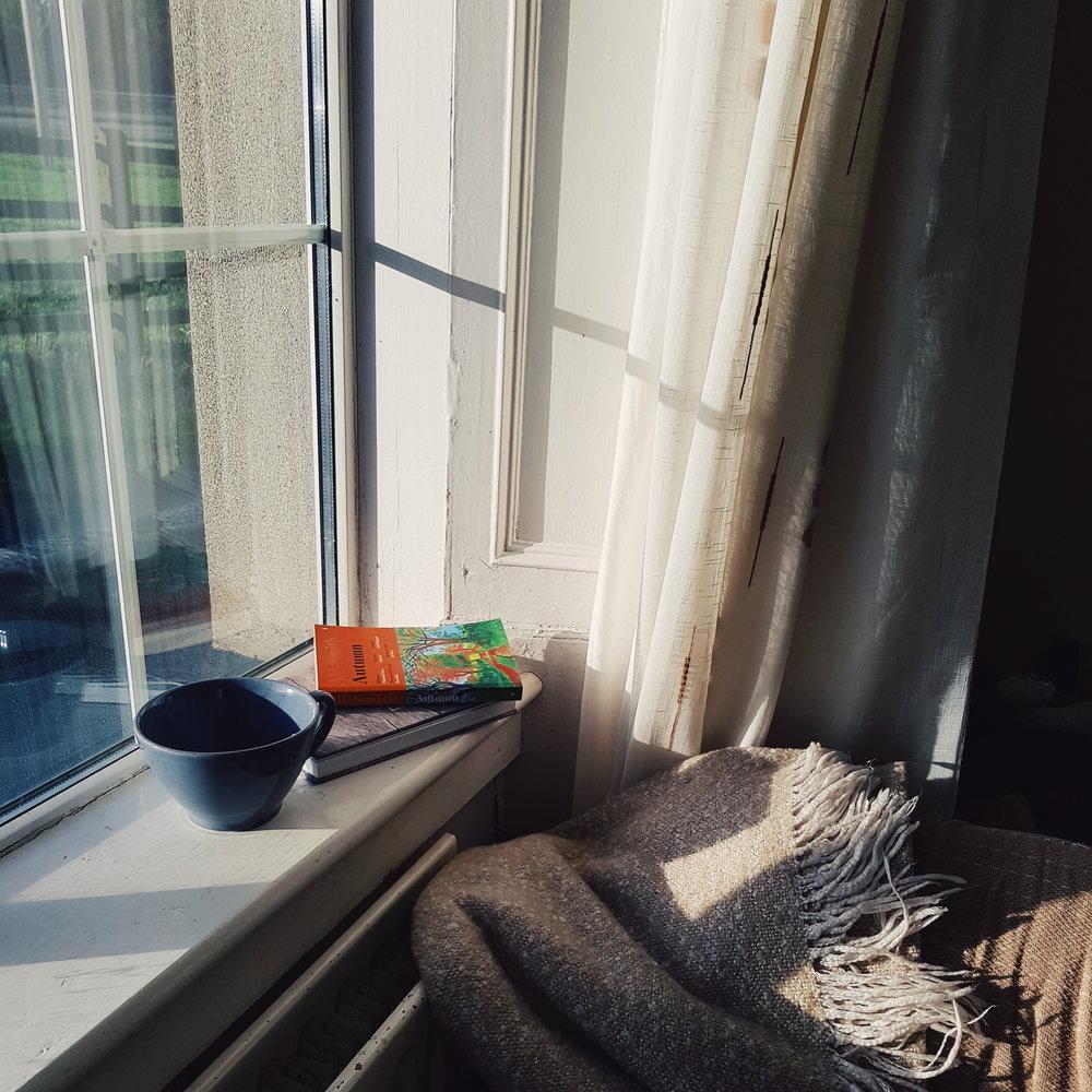 slow living corner