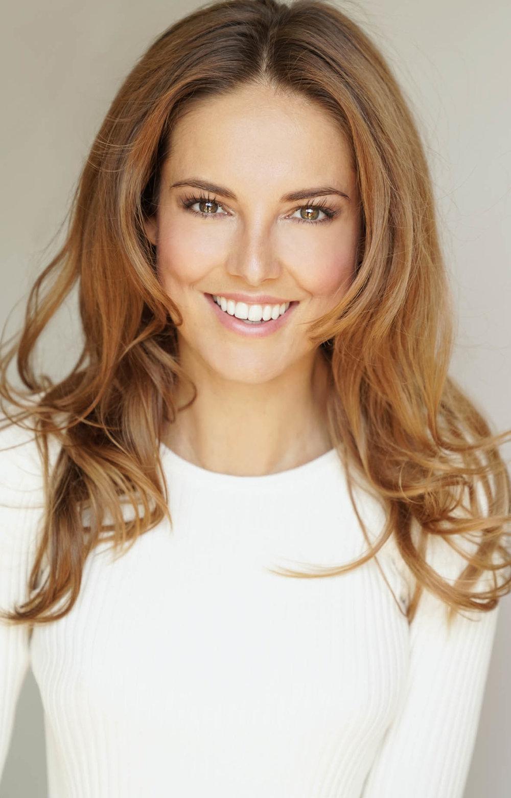 lächelndes Portrait von Stephanie
