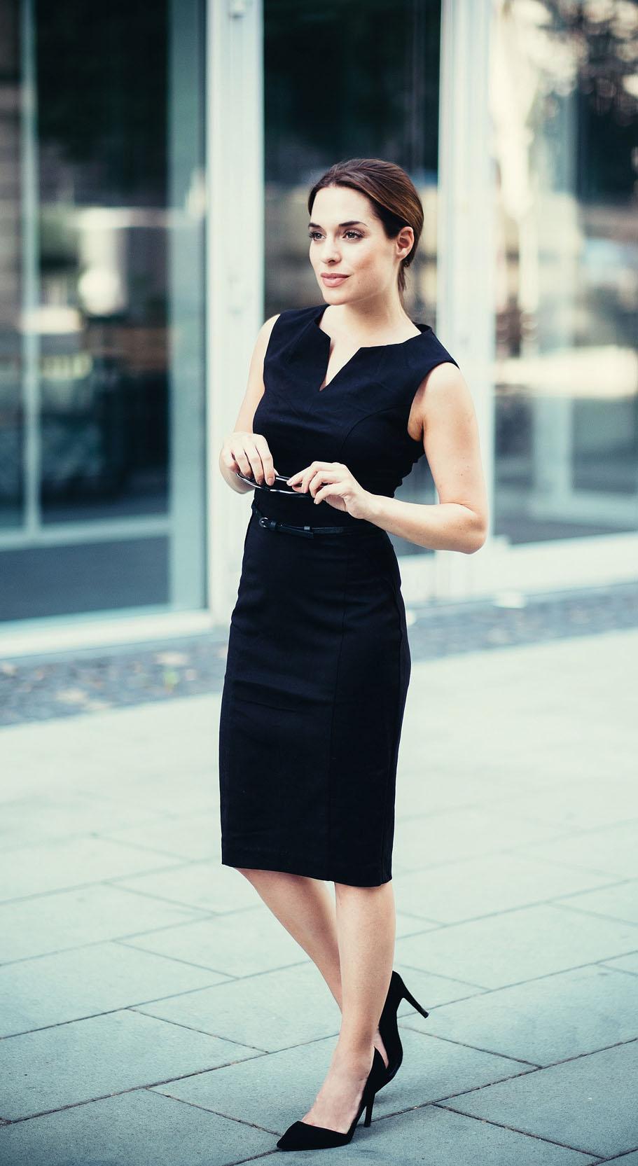 Businessimage von Janina auf der Straße