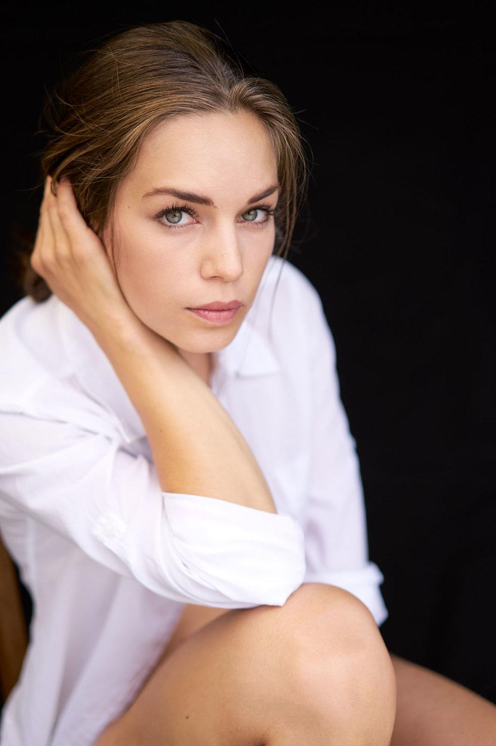 People Gesicht Ines für Modelkampagne