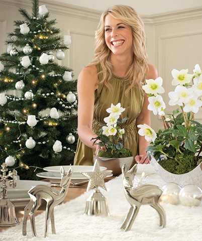 Sylvie freut sich auf das Weihnachtsessen