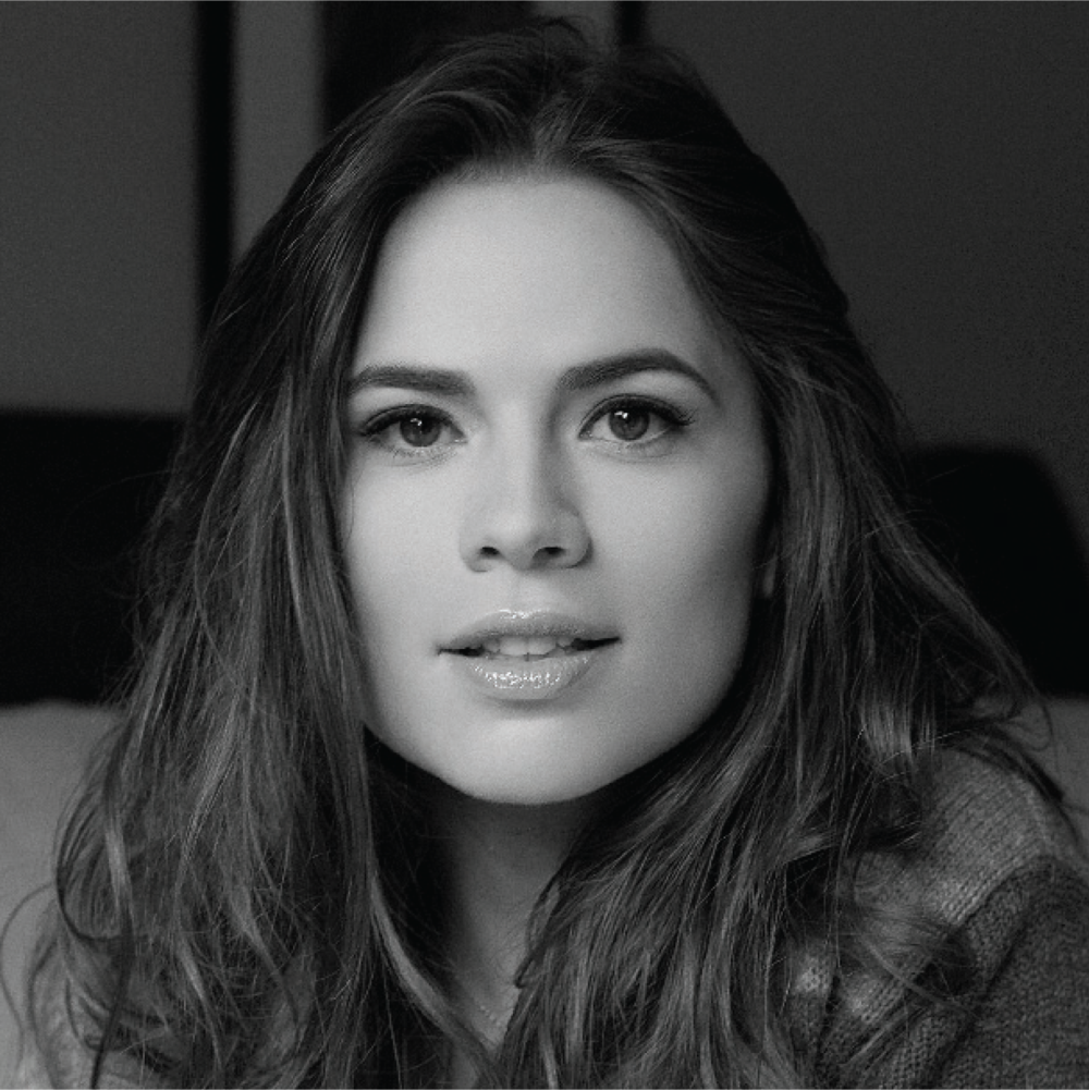 Hayley Atwell, Saint Cecilia actress.