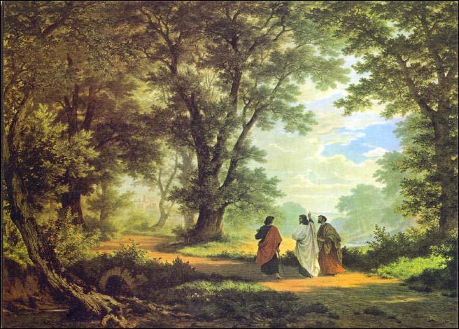 The Road to Emmaus,  Robert Zund