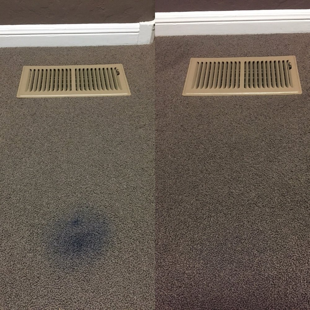 We can remove stubborn stains like this ink stain!