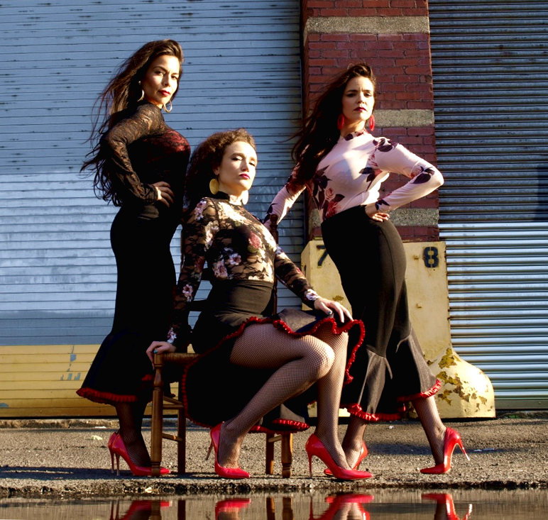 Flavor Girls in pumps, New York City.  Photo credit  JC Photography