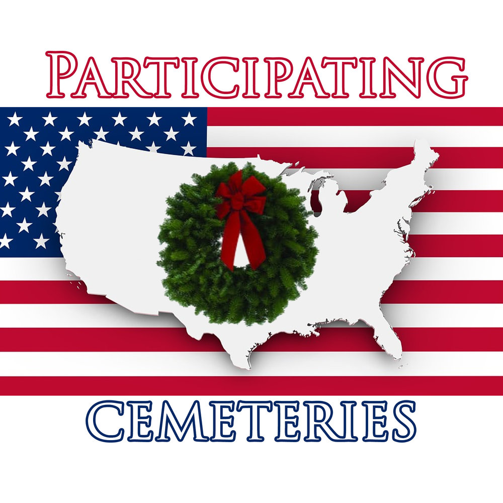 LOCATIONS  - On National Wreaths Across America Day each December, volunteers place wreaths on individual veterans' graves in over 1,200 locations throughout the U.S., with ceremonies at sea, and at each of the national cemeteries on foreign soil.You can sponsor a wreath at a cemetery near you, or even volunteer or donate to a local fundraising group.If you don't see a location near you, Wreaths Across America will support you in becoming a Location Coordinator for a cemetery in your area. There is no cost to become a participating location and host a WAA ceremony this December.