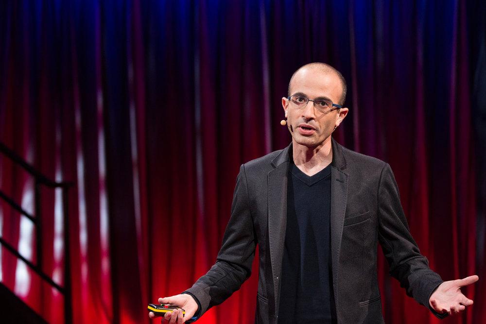 Yuval Noah Harari. Foto: TED Conference/Flickr