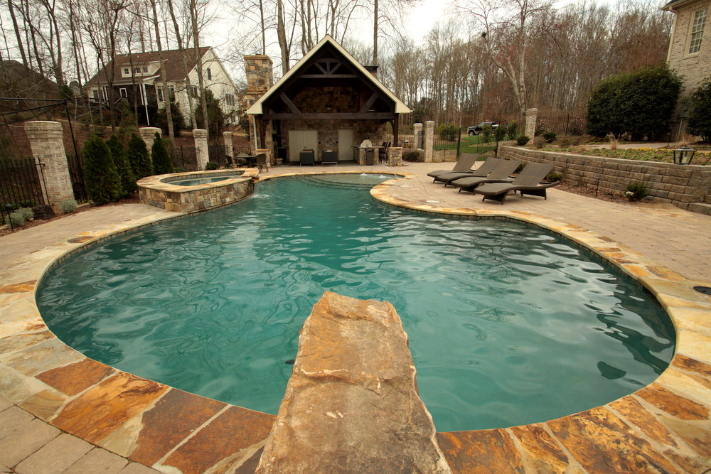 Pools & Water Features -