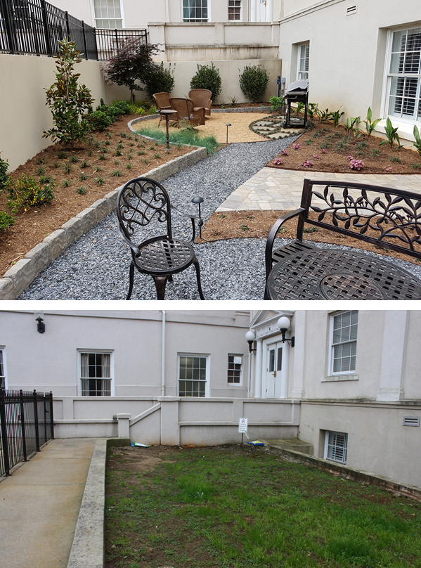 Worley Courtyard before after.png