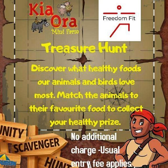 Join the animals of Kia Ora Mini Farm all this week for a super healthy treasure hunt and discover what the animals like to eat 🥕 . #freedomfit #freedomfitnorthwexford #fitness #health #fun #wexford #gorey #familyfit #local #freedomfitevents #lovegorey #visitwexford #treasurehunt #irelandsancienteast