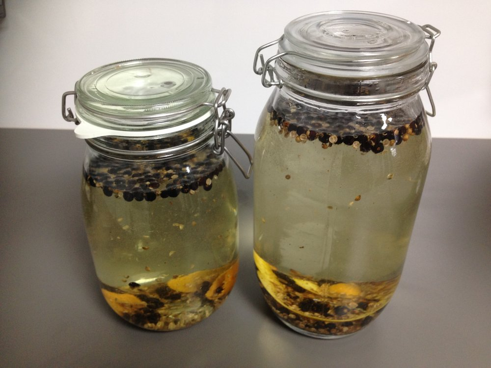 Small Batch Base Botanical Maceration