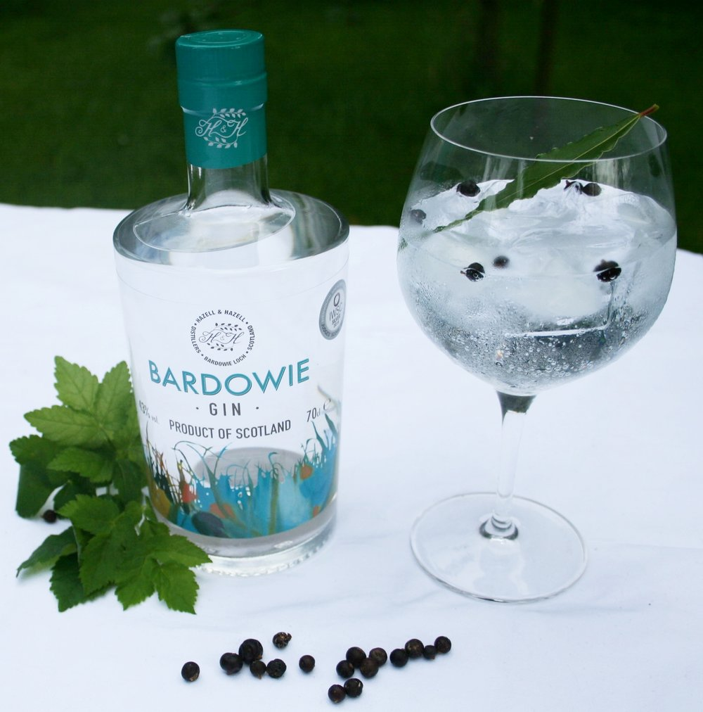 Bardowie and Tonic with Blackcurrants and Bay