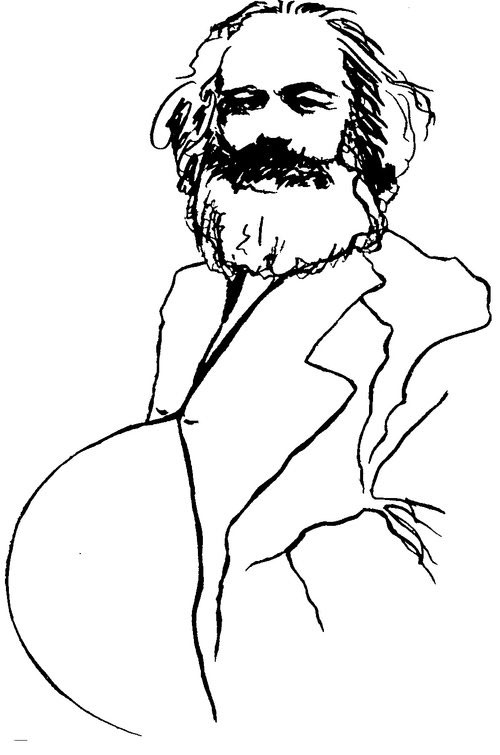 Jerelle Kraus Op Ed Illustration - Karl Marx Hid His Illegitimate Son