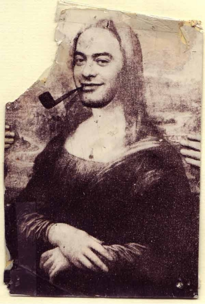 A Roland Topor self portrait
