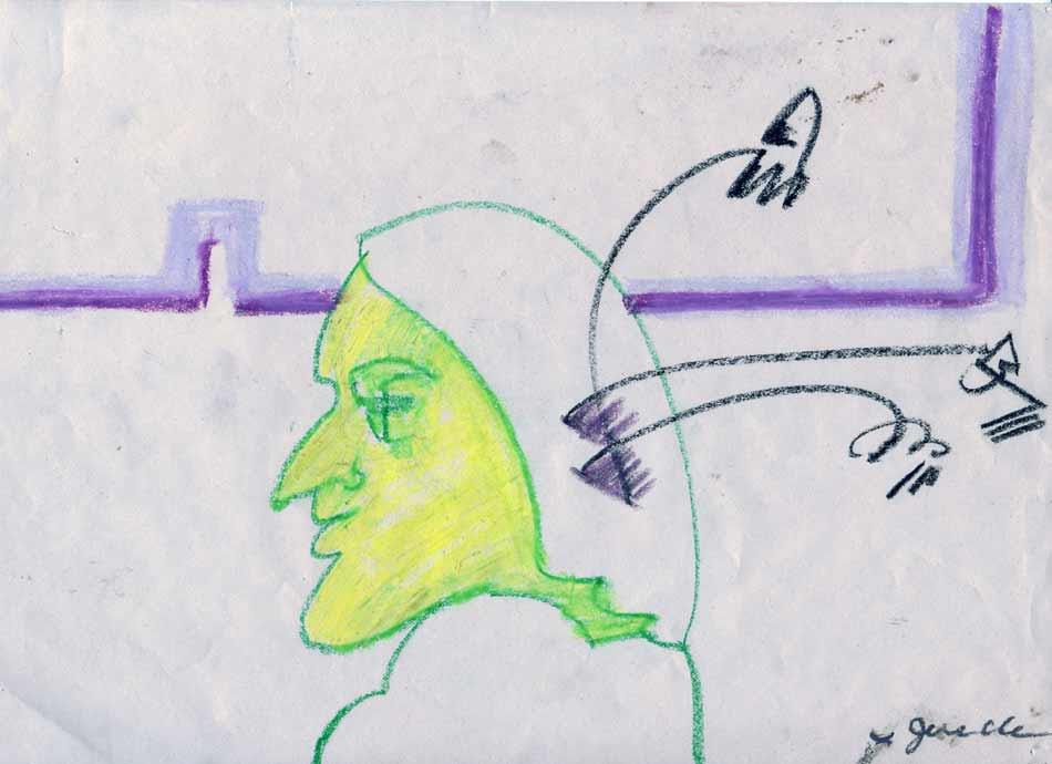 Jerelle Kraus Drawing Portrait
