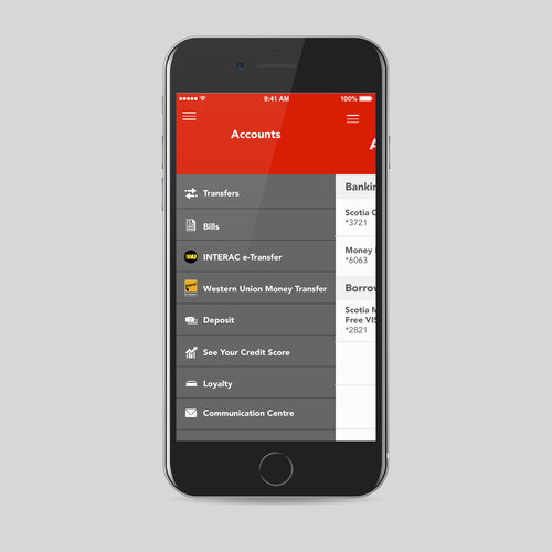 SCOTIABANK MOBILE BANKING — Tavon Forrest  Package & Graphic