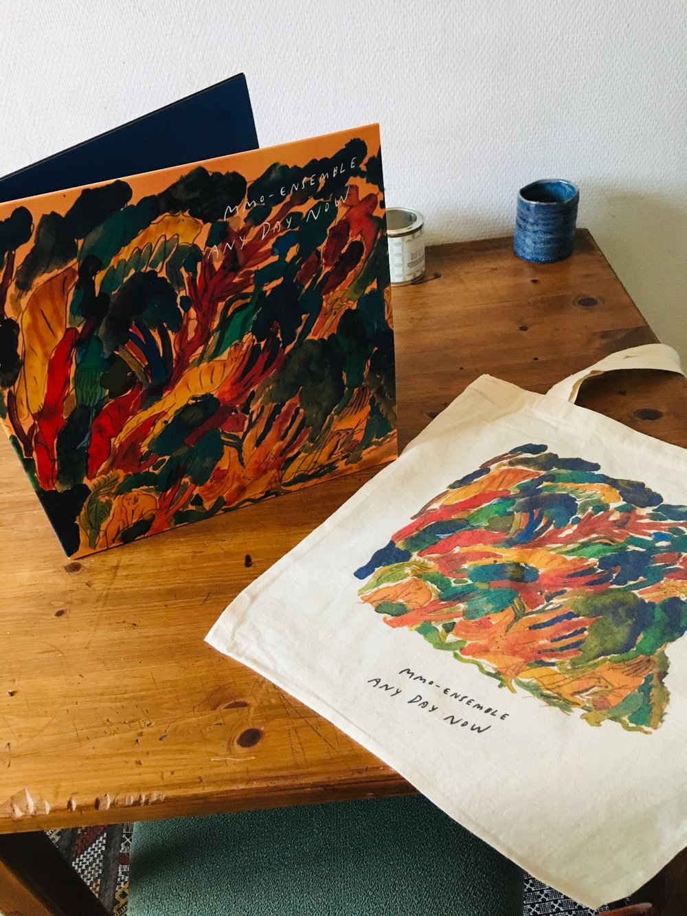 Vinyl and totebags of Any Day Now has finally arrived :) !!! - PM olsenmartinmyhre@gmail.com for orders while the shop is a work in progress….