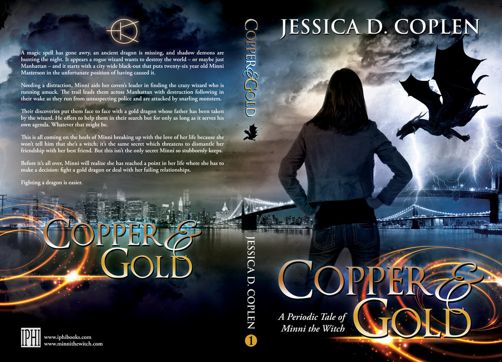 Final Cover Art for Copper and Gold