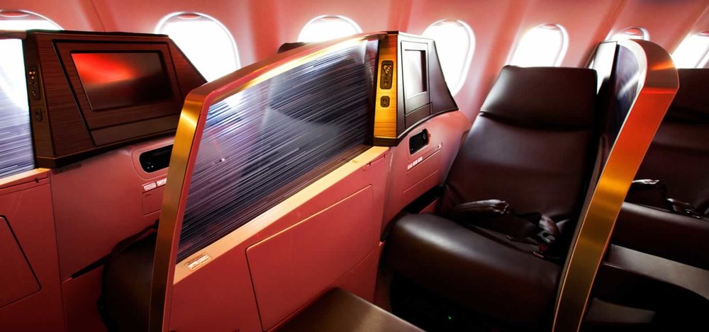 AEROPLANE INTERIOR POWDER COATED SEATS