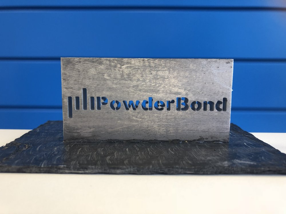 Aluminium bonded to polypropylene with PowderBond