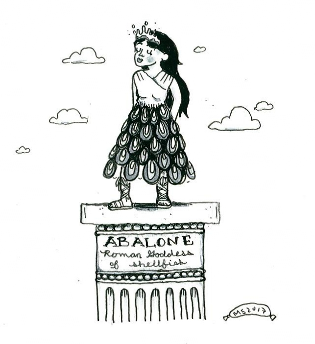 The Roman Goddess Abalone