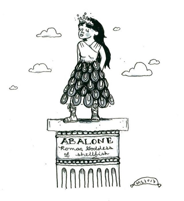 The Roman Goddess Abalone