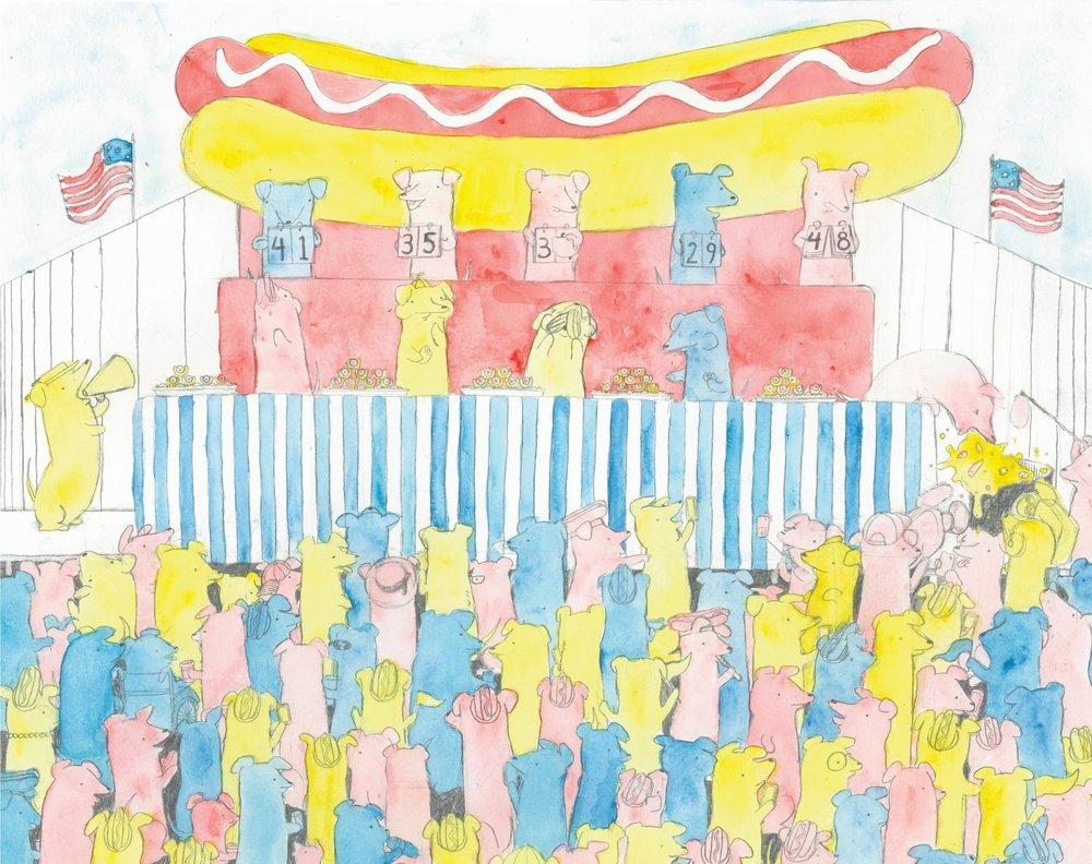 Hotdog Hotdog Eating Contest
