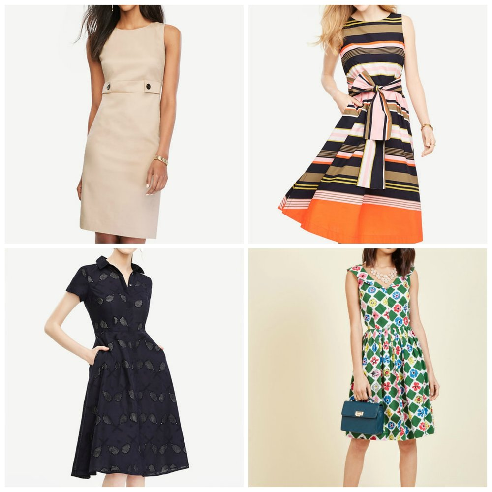 All Ann Taylor except bottom right, found at Modcloth