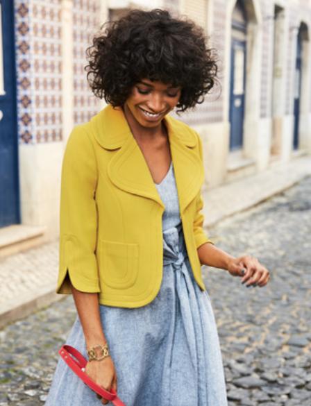 Boden Mimosa jacket