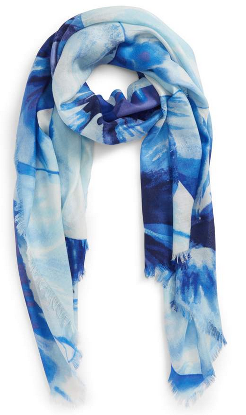 Cashmere and silk wrap at Nordstrom