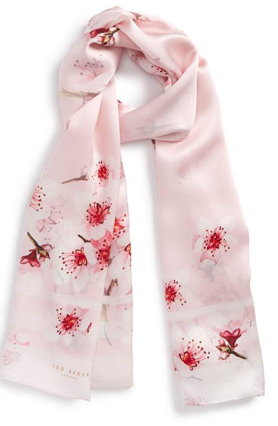 Ted Baker blossom scarf