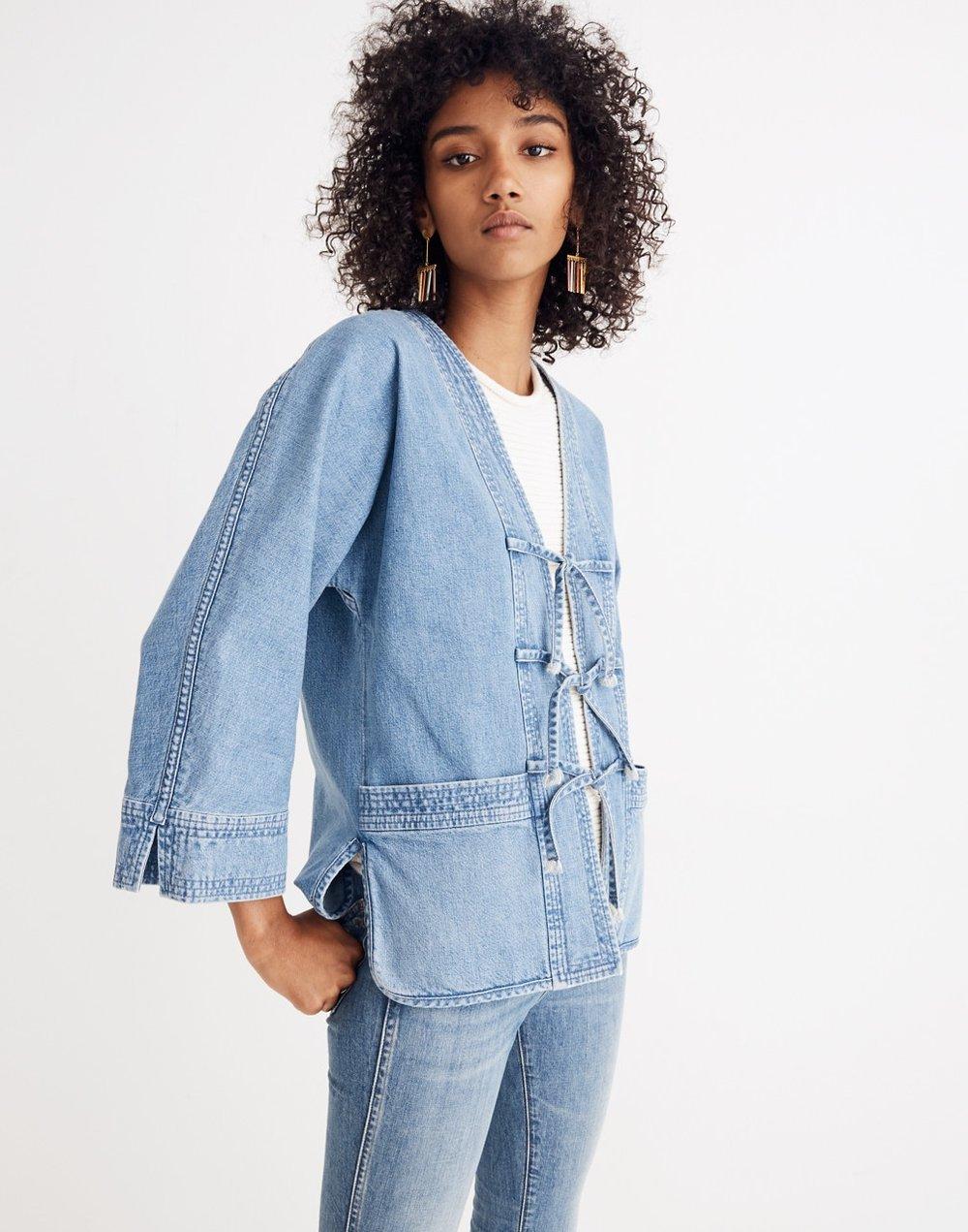 Madewell Kimono chore jacket