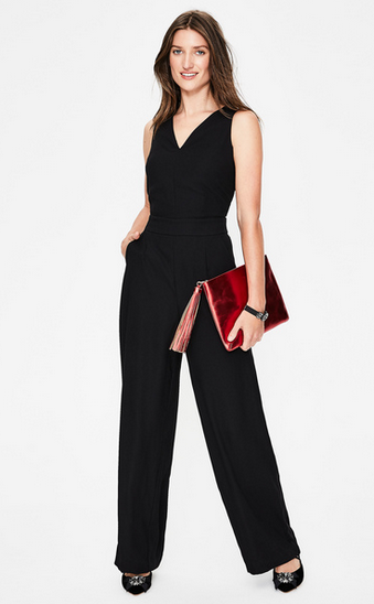 Boden Hexham evening jumpsuit (the back is pretty racy!)