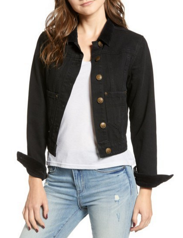 Lira sleek and fitted denim jacket.PNG