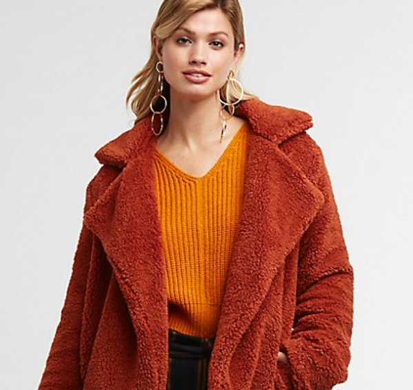 Charlotte Russe casual fleece coat.PNG