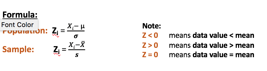 Z-Scores • Statistics and Data Science Hub