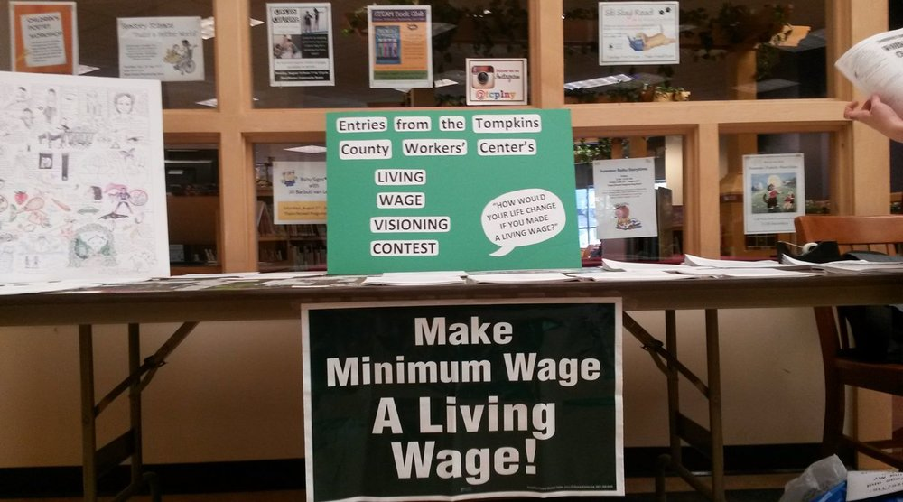 Workers can't survive on poverty wages    Take Action