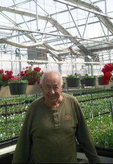 John Kovacs - John Kovacs bought the land that the greenhouse stands on today back in 1959.  In 1960, he started farming that land.  He grew mainly lettuces and root vegetables, such as turnips  In 1978, John built a greenhouse and Cold Springs Greenhouse was created