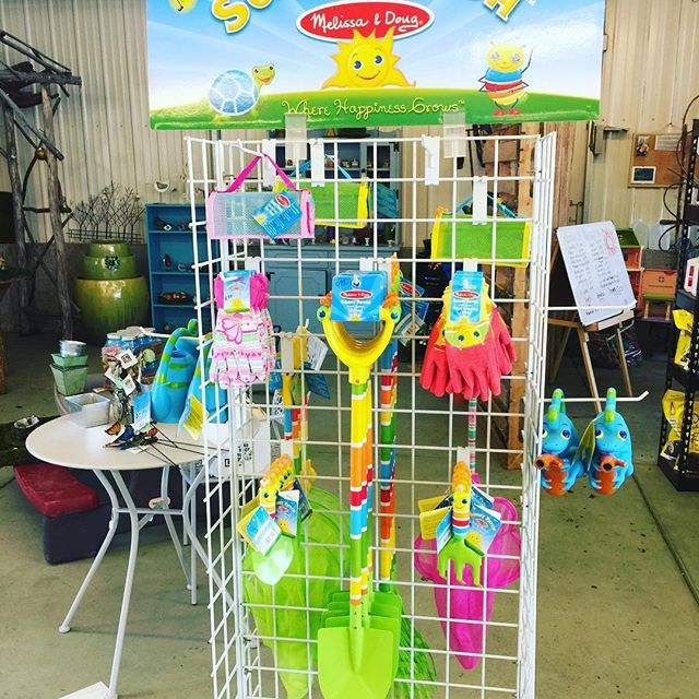 Great Easter Gift idea: Melissa & Doug garden tools and insect catchers for the little ones.  Stop on by!