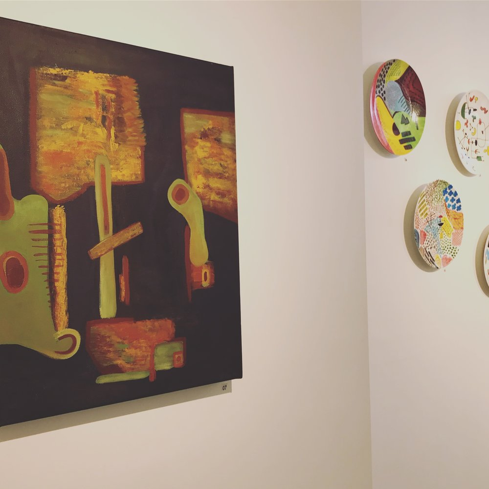 Paintings & Plates: Bronwyn Foulkes