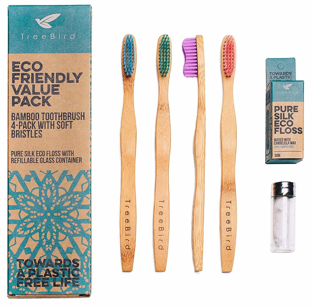 BAMBOO TOOTH CLEANING SET