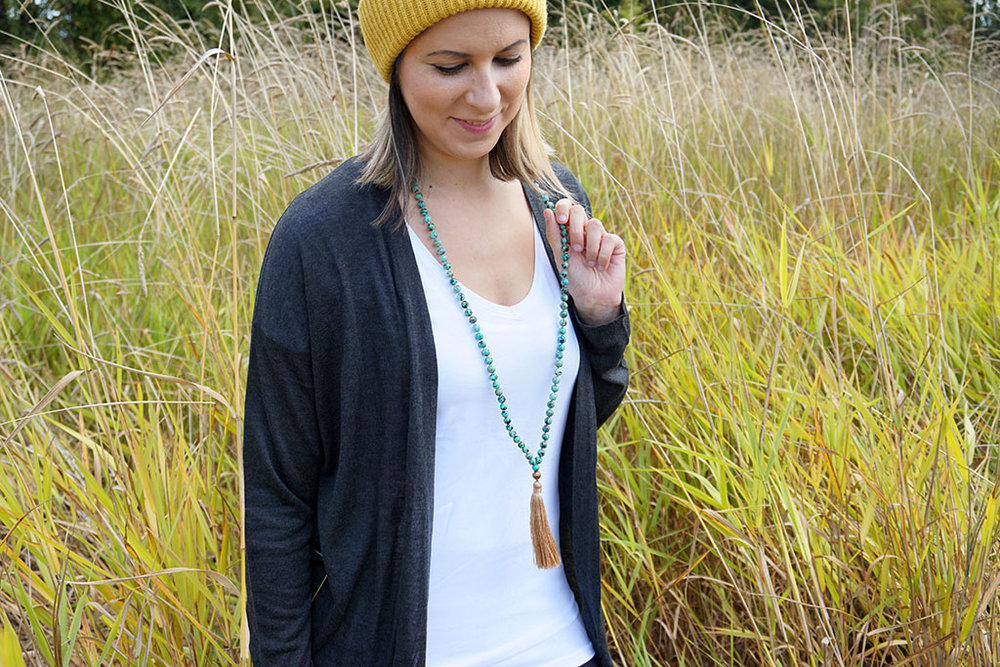 I Am Blessed Mala Beads Hayley Loewen I Am Compassionate Mala