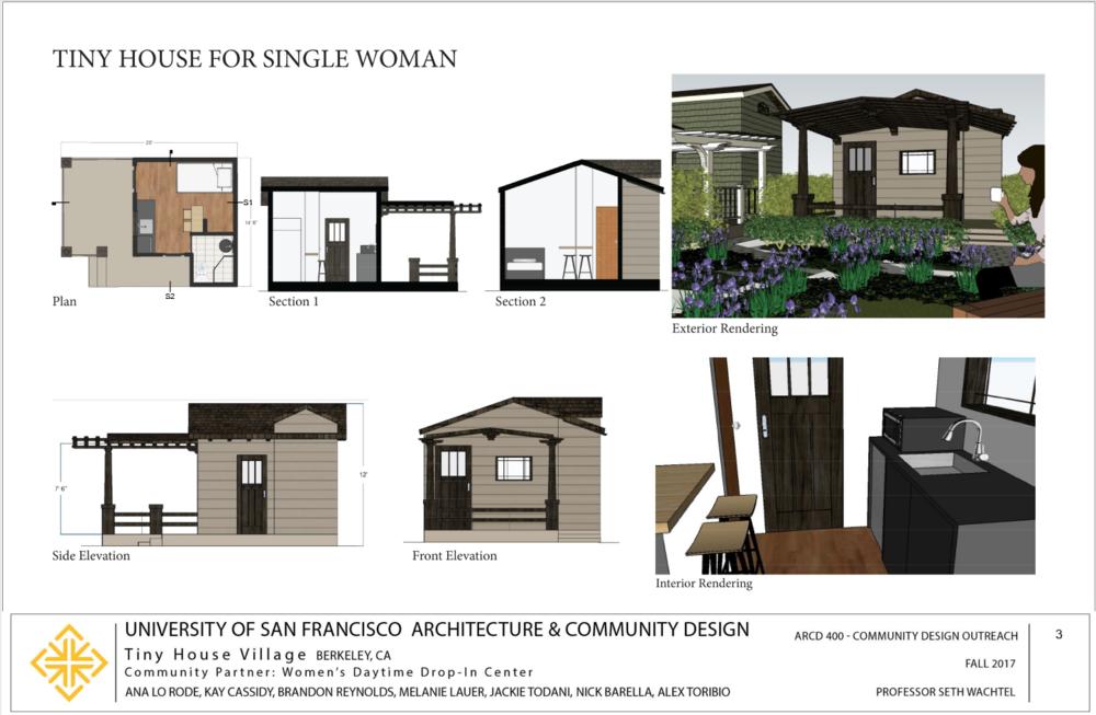 single woman's house