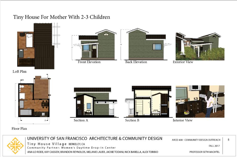 house 2-3 children