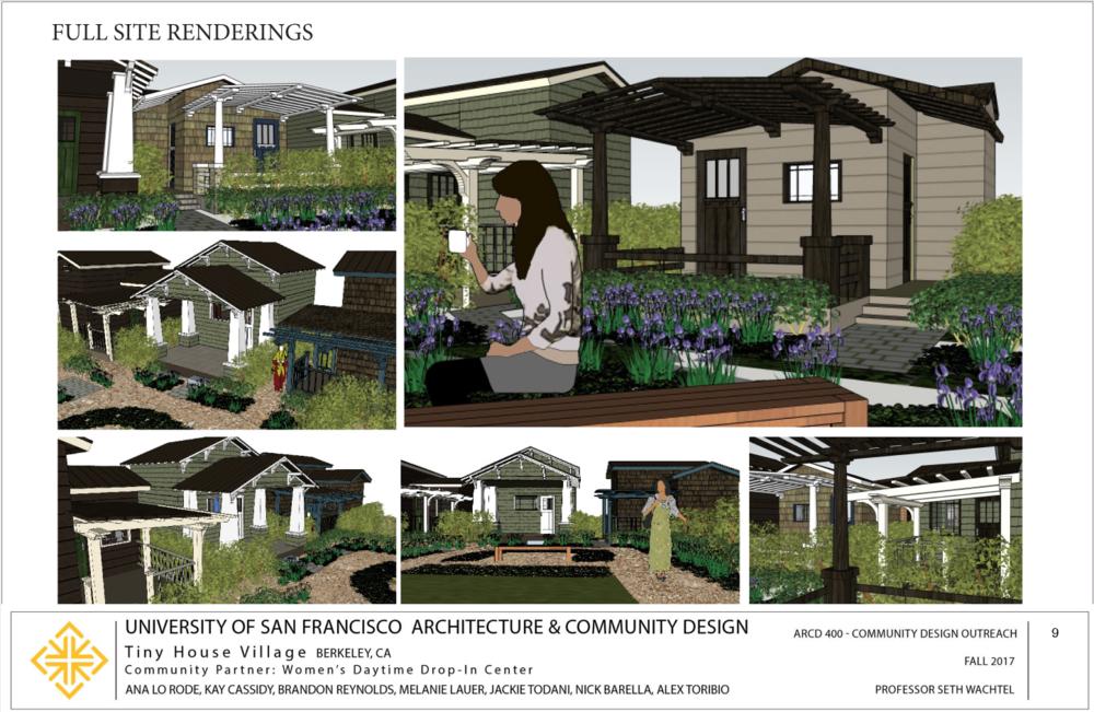 full site renderings