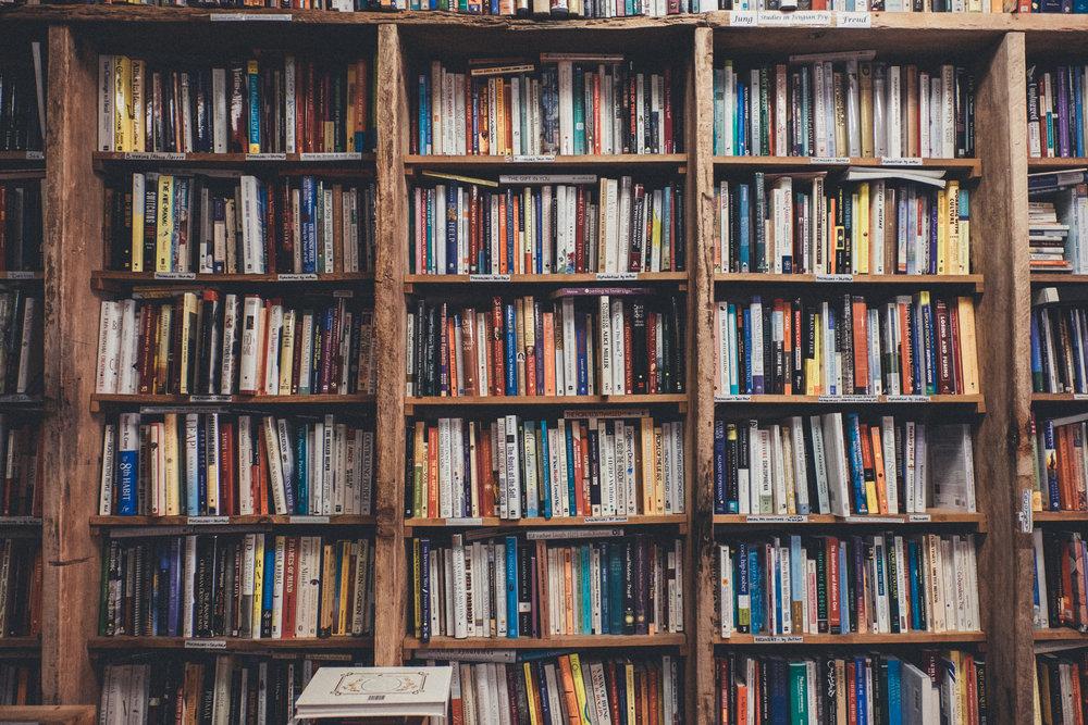 Old Bookshelf