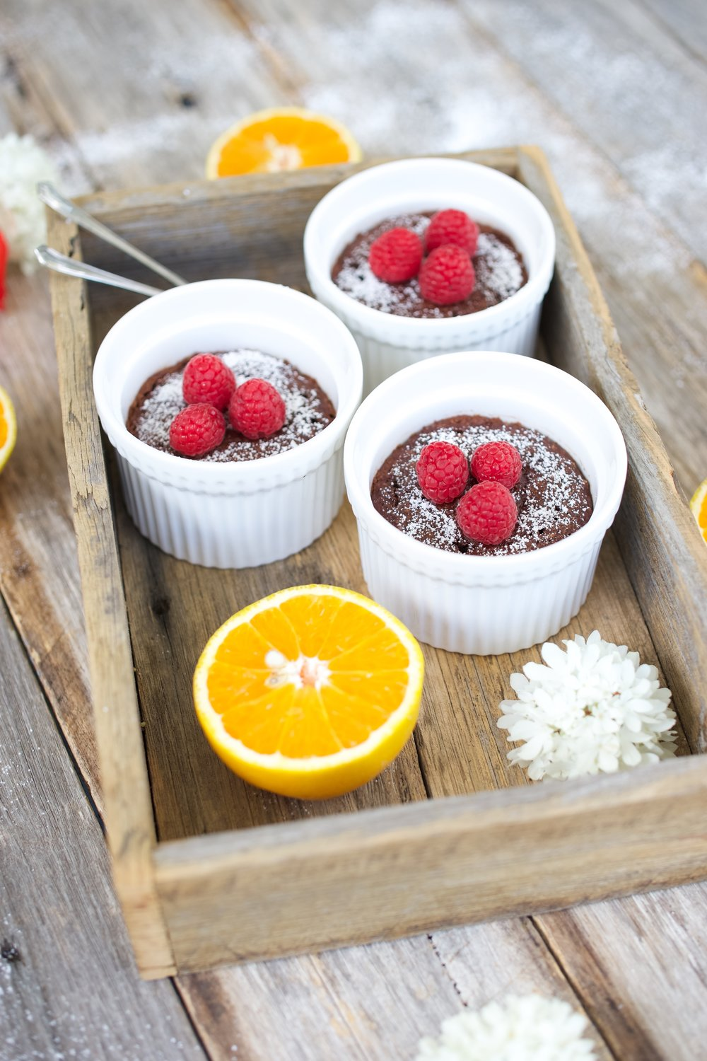 Easy Chocolate Pudding Pots